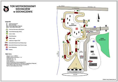 Tor motocrossowy Sochaczew