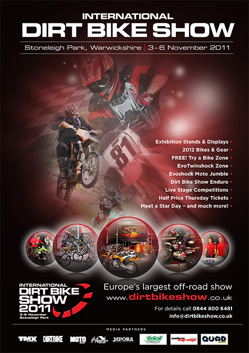 INTERNATIONAL DIRT BIKE SHOW 2011
