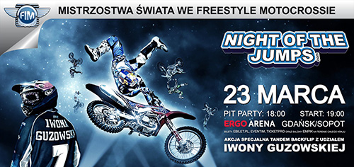 night of the jumps - gdańsk / sopot 23 marca 2013