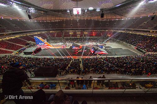 Nitro Circus Live w POLSCE – Stadion Narodowy 14.12.2013