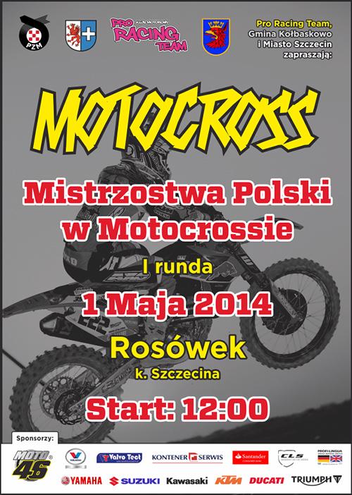 I runda - Mistrzostwa Polski Motocross 2014 - Rosówek
