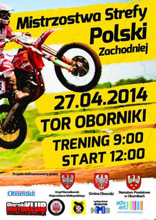 II runda - Mistrzostwa Polski Strefy Zachodniej MX 2014