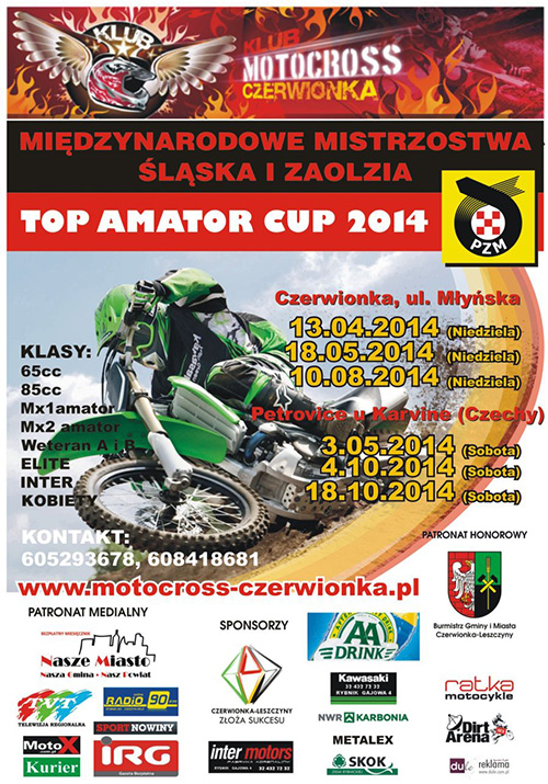 II runda - TOP AMATOR CUP 2014 - Petrovice