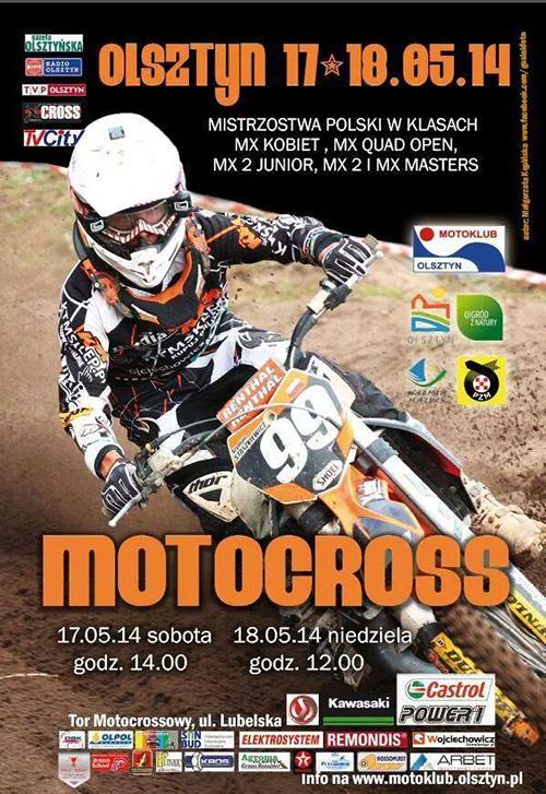 III runda - Mistrzostwa Polski Motocross 2014