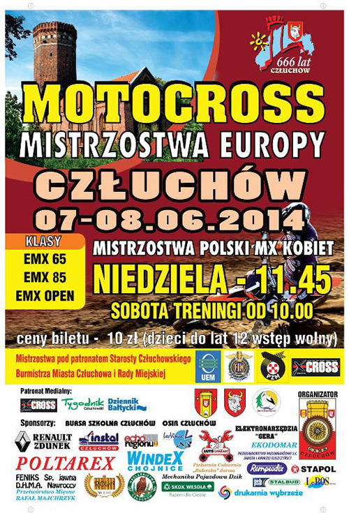 Mistrzostw Europy MX EC 2014