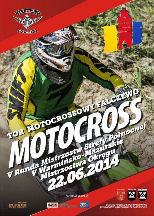 V runda - Mistrzostwa Polski Strefy Północnej MX 2014