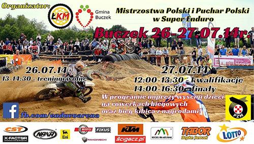 III runda - Mistrzostwa Polski i Puchar Polski SUPER ENDURO 2014