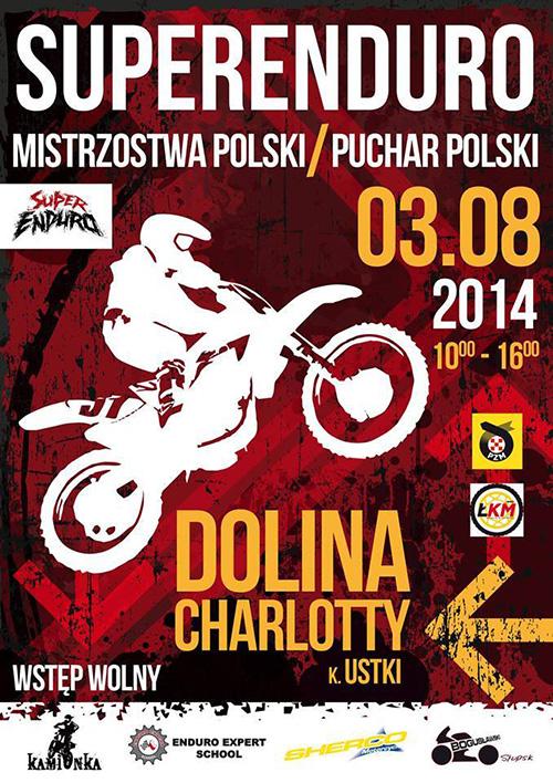 IV runda - Mistrzostwa Polski i Puchar Polski SUPER ENDURO 2014