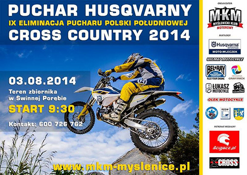 IX rudna Pucharu Polski Południowej Cross Country 2014