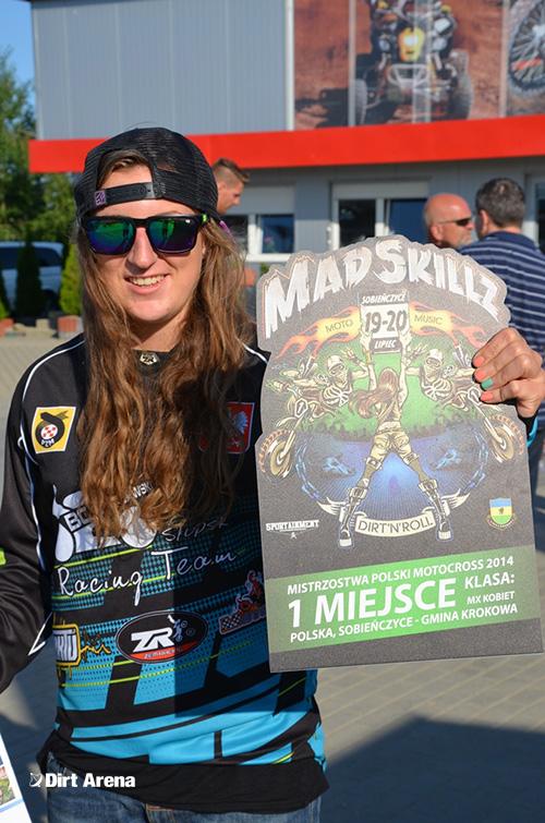 relacja - Mistrzostwa Polski w Motocrossie oraz Mad Skillz 2014