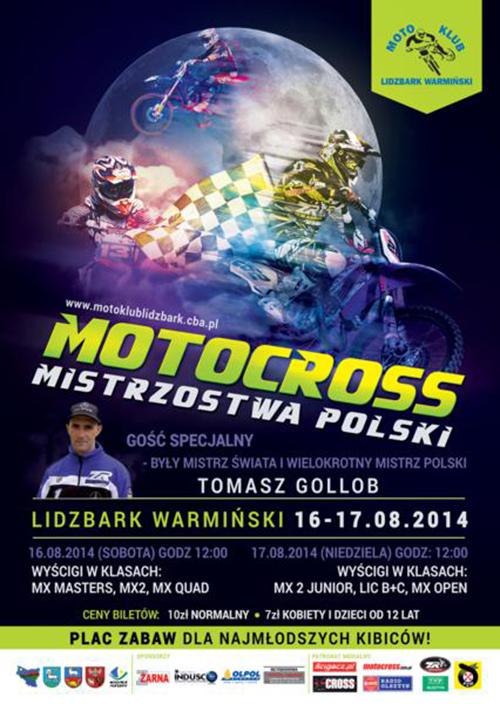 VIII runda - Mistrzostwa Polski Motocross 2014