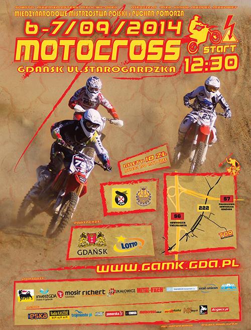 Mistrzostw Polski w Motocrossie 2014 i Pucharu Pomorza