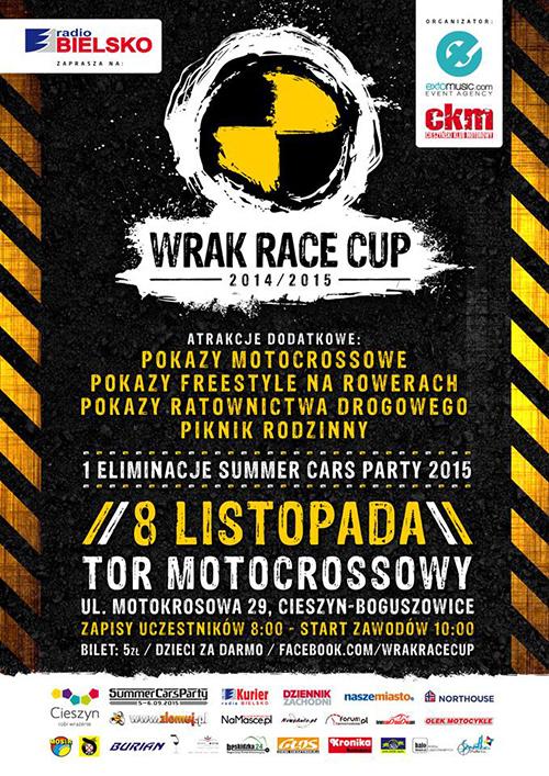 WRAK RACE CUP 2014 / 2015 - pierwsza eliminacja