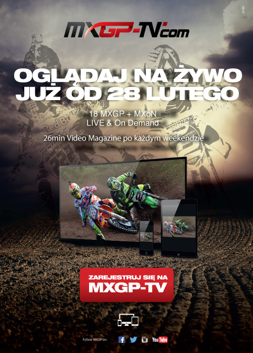 Oglądaj MXGP 2015 na żywo u nas już od 28 Lutego!!!