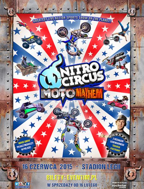 Nitro Circus Live powraca do Polski z nowym SHOW - MOTO MAYHEM