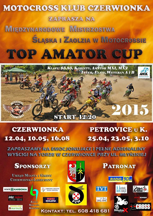TOP AMATOR CUP 2015