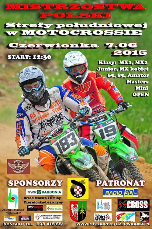 III runda - Mistrzostwa Polski Strefy Południowej MX 2015