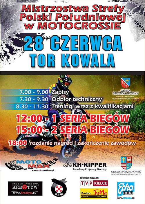 IV runda - Mistrzostwa Polski Strefy Południowej MX 2015