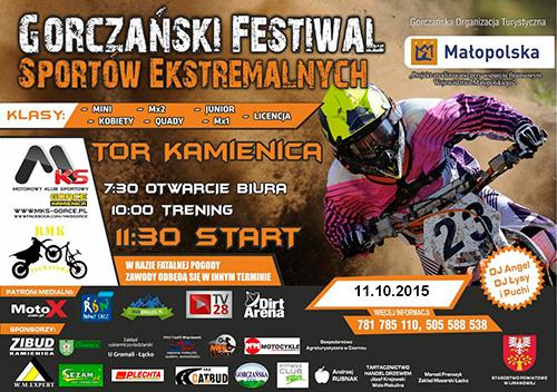 GORCZAŃSKI FESTIWAL SPORTÓW EKSTREMALNYCH 2015 - Kamienica